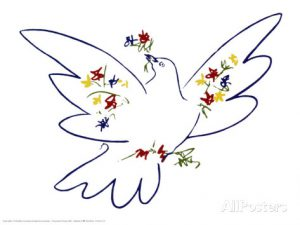 La colombe de la paix